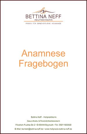 Anamnesefragebogen Erwachsene