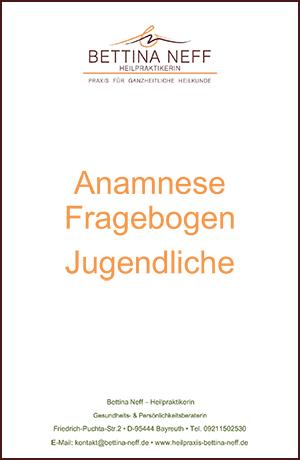 Anamnesefragebogen für Jugendliche